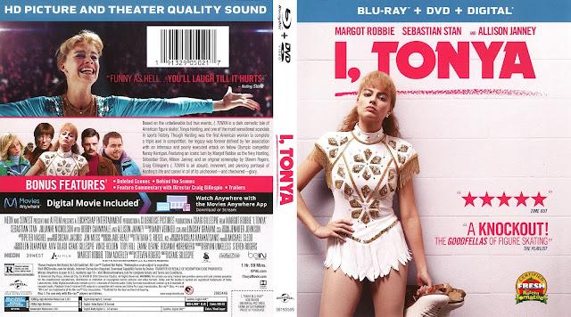 I, Tonya Bluray Cover