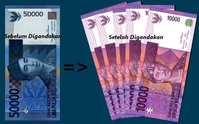 Menggandakan Uang Yang Benar