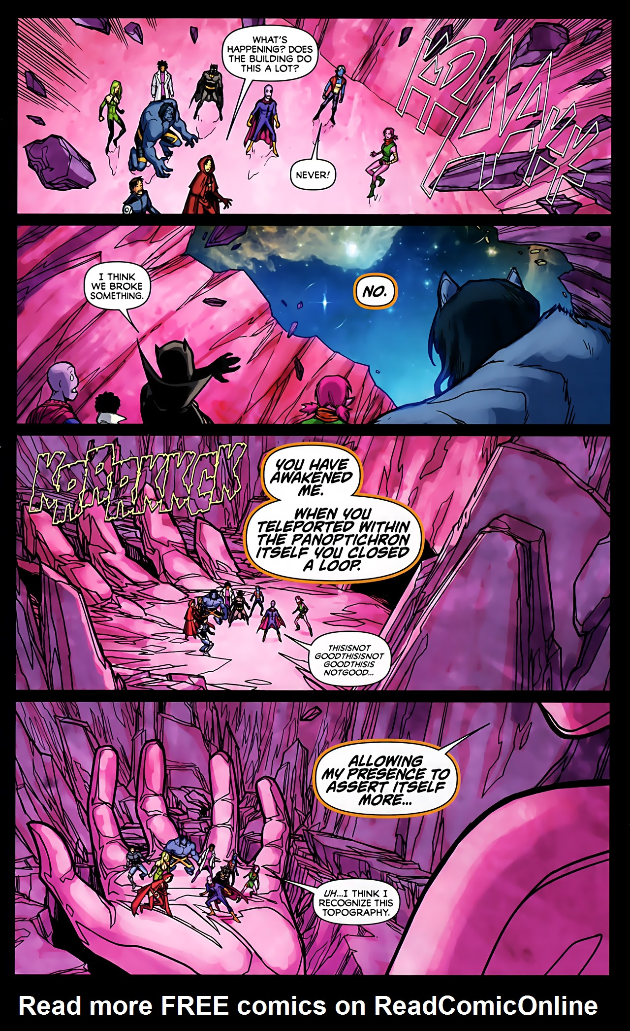 Read online Exiles (2009) comic -  Issue #6 - 28