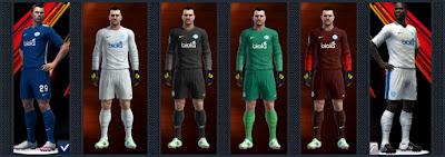 FC Dnipro kits 16-17