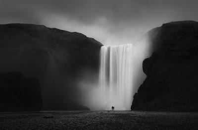 Cascada de Islandia, donde cuenta la leyenda que Halla arrojó a su bebé