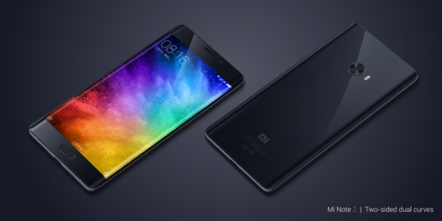 Xiaomi Mi Note 2 goes official With 5.7″ FHD Display