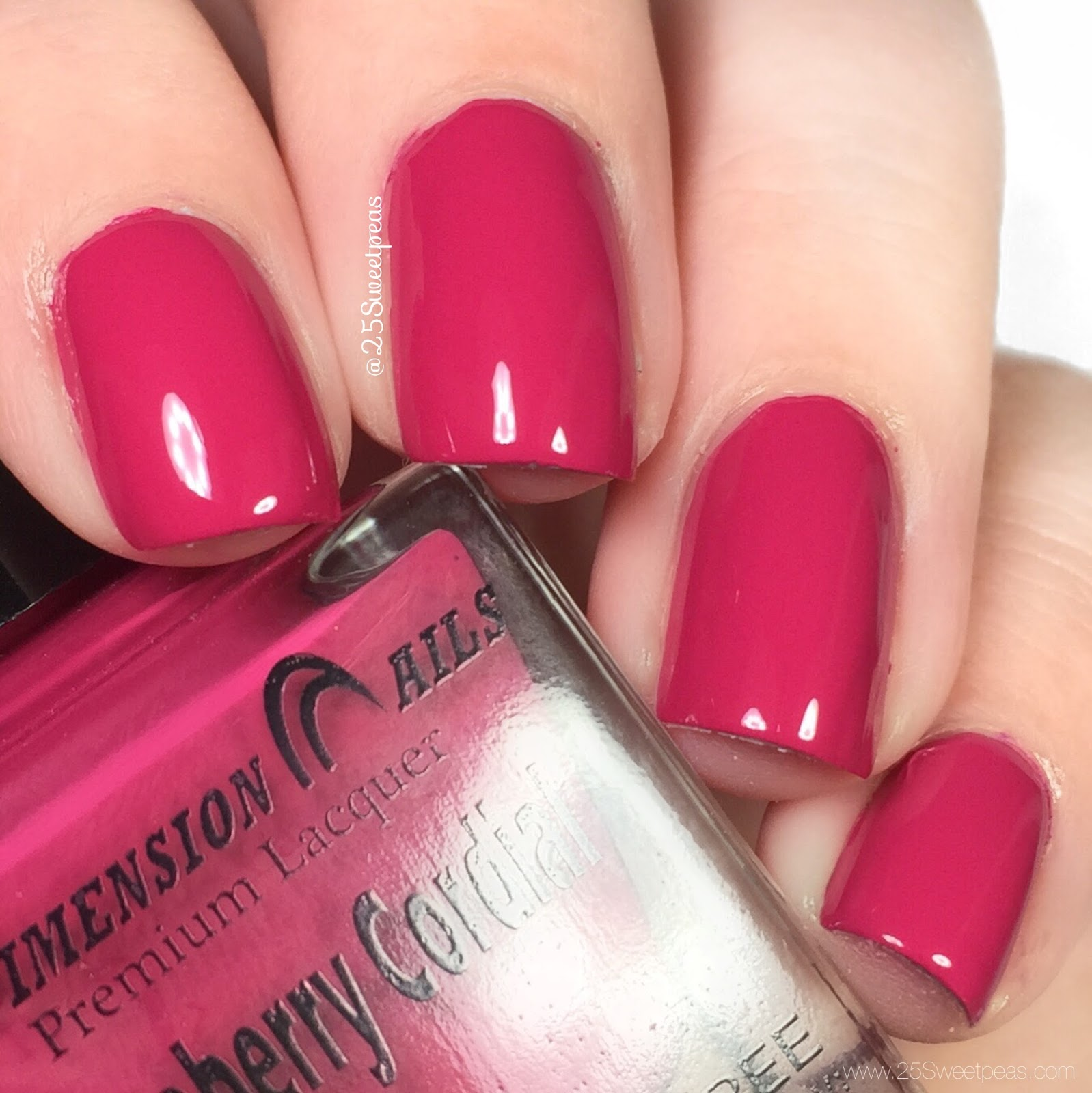 Dimension Nails Raspberry Cordial