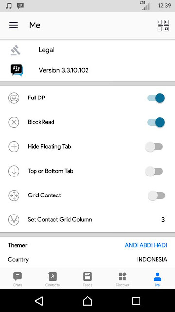 Bbm Mod Official Style White V3.3.10.102 Apk Update Terbaru