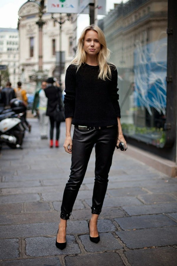 Total black looks