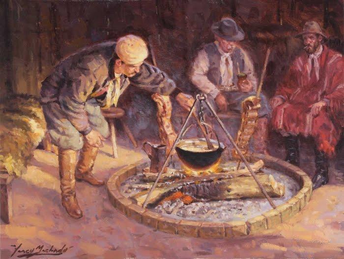Consumos del Ayer El fogn cocina criolla por excelencia