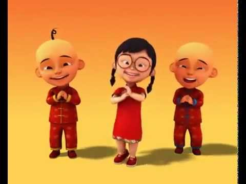 Upin Ipin Gong Xi Fa Cai Anak Anak Dnk Dvd Shop