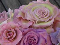 flower fondant cake