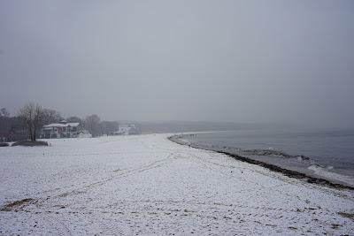 Sopot widok z molo w kierunku Gdyni