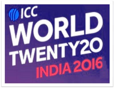 ICC World Cup T20 2016 schedule