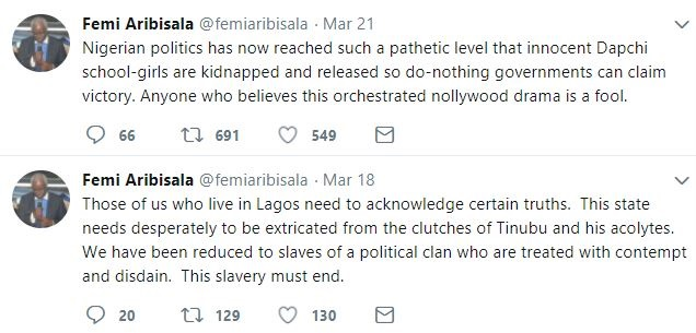 Dapchi Girls Kidnap Is A Nollywood Movie Only A Fool Will Believe - Pastor Femi Aribisala
