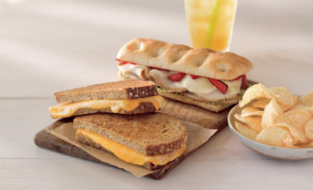 News Starbucks New Grilled Cheese And Turkey Pesto Panini