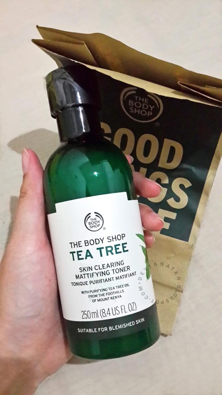 REVIEW The Body Shop Tea Tree Skin Clearing Mattifying