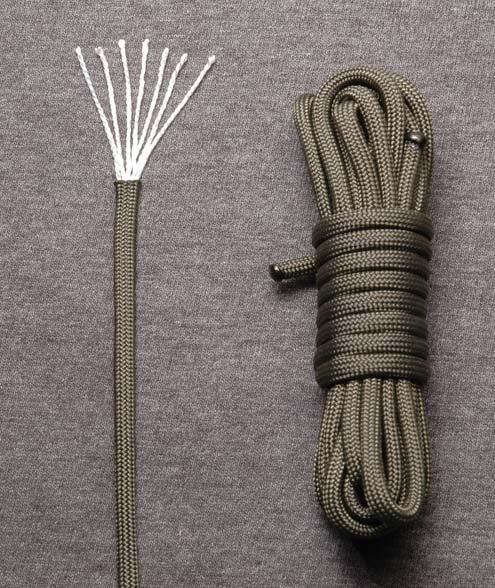 El arte de la supervivencia paracord vs cordino - Tipos de cuerdas ...