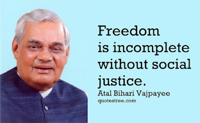 Atal Bihari Vajpayee Quotes, Speeches and Poems