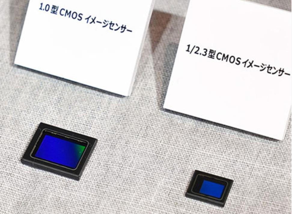 """Сравнение размеров сенсора 1"""" и 1/2.3"""""""