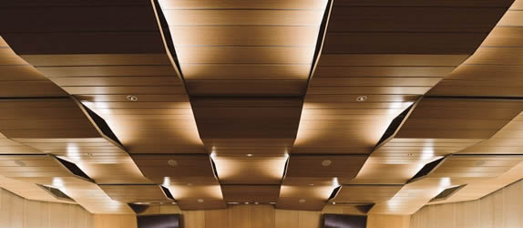 3D Ceiling Designs with 3D ceiling panels.