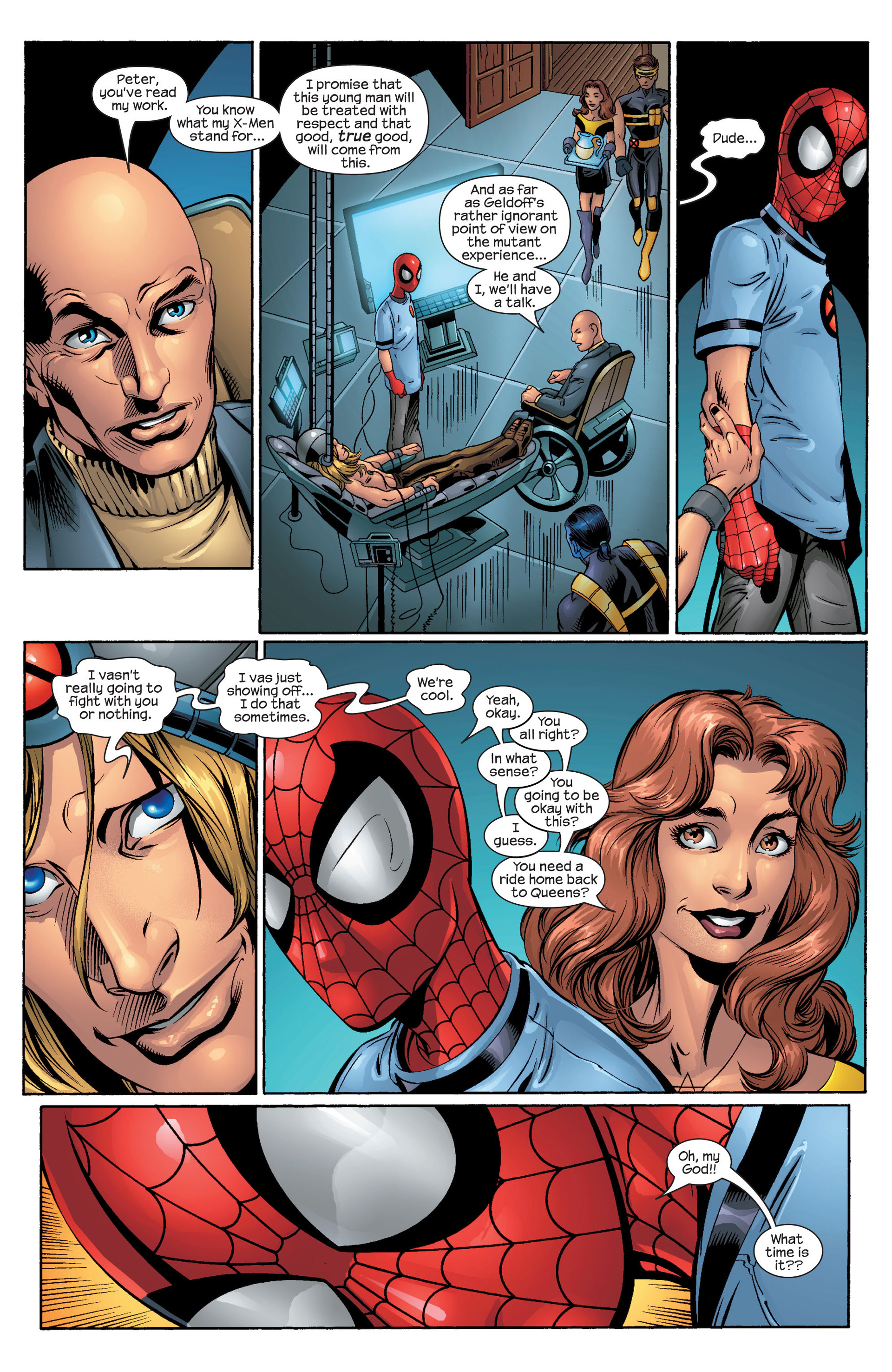 Read online Ultimate Spider-Man (2000) comic -  Issue #44 - 21