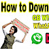 How to download GB Whatsapp Latest Version ?