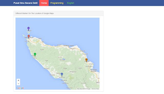 Tips Cara Membuat Marker Di Google Maps Terbaru