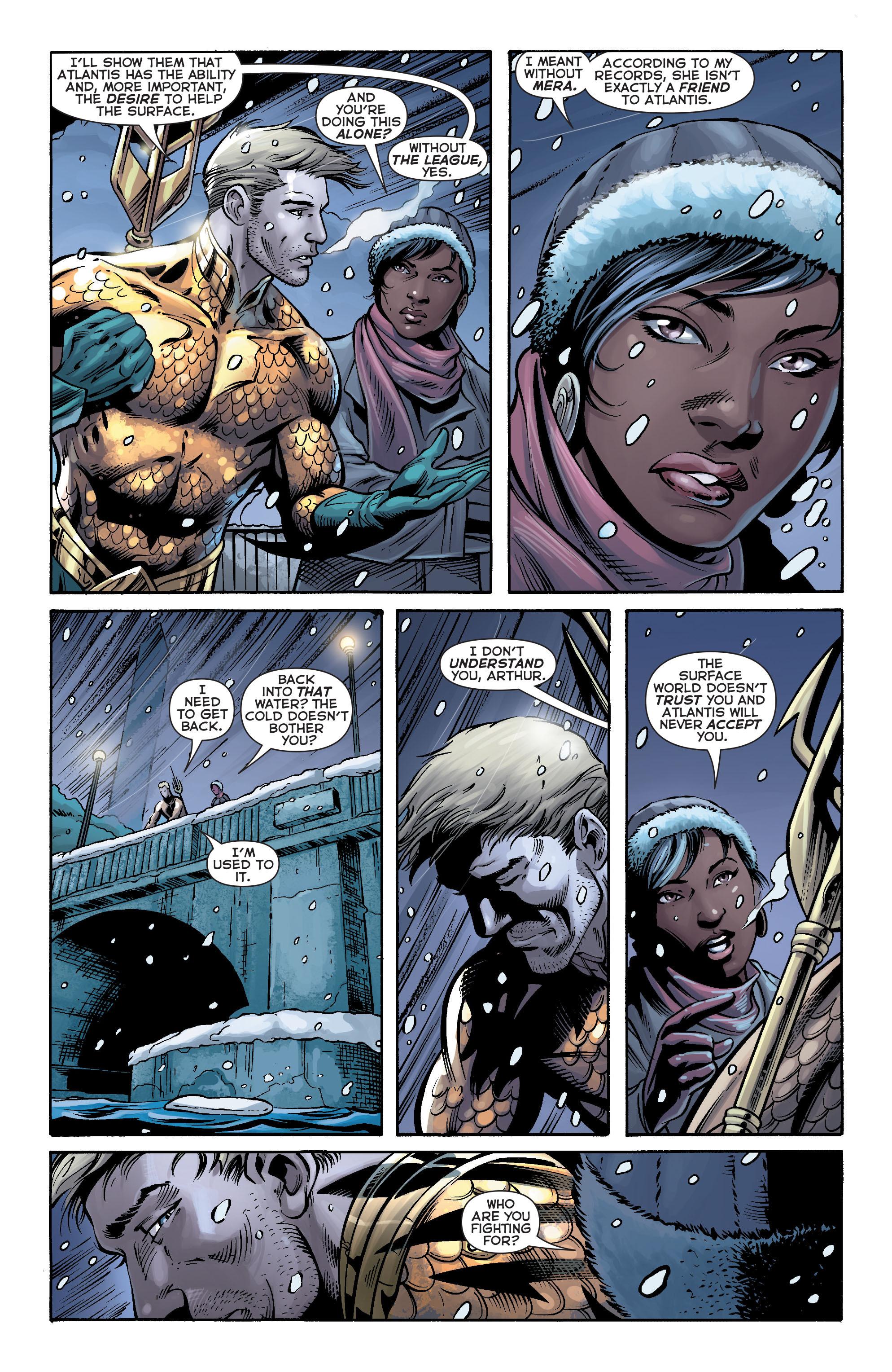 Read online Aquaman (2011) comic -  Issue #17 - 14