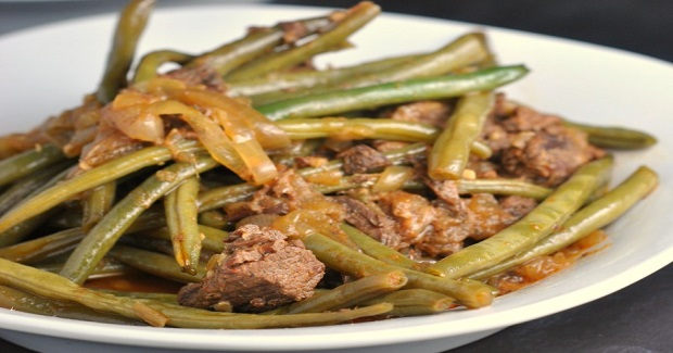 Thai Red Beef Curry With Green Beans Recipe