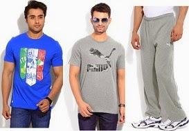 Minimum 50% Off On Puma Men's Clothing @ Flipkart(Limited Period Offer)