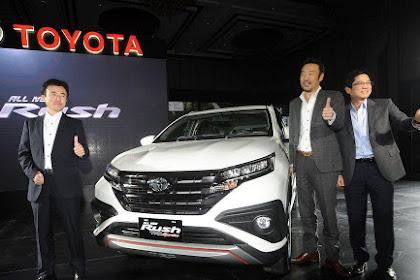 Mengintip Spesifikasi Toyota Rush Yang Semakin Sempurna