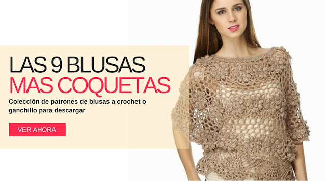 Las 9 Blusas a Crochet más coquetas que hayas visto jamás
