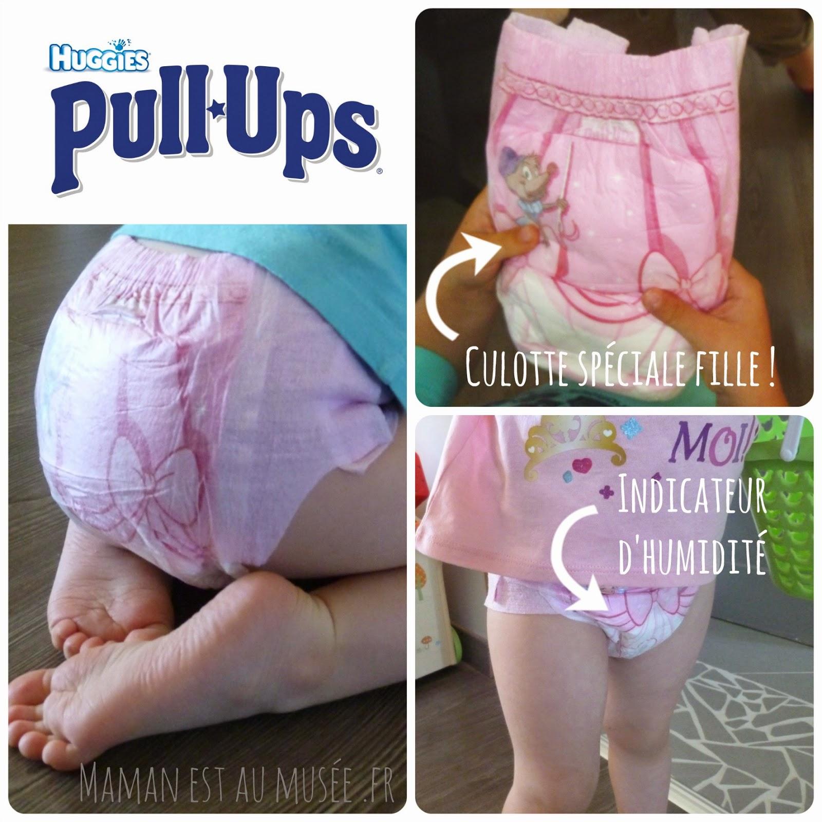 Maman est au mus e blog famille lifestyle on apprend la propret avec les culottes d - Couche huggies nouveau ne ...