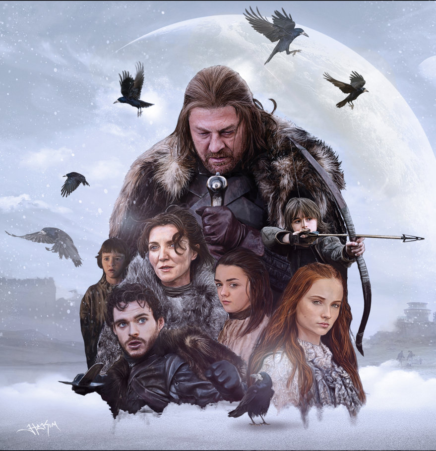 Stark Familie Game Of Thrones