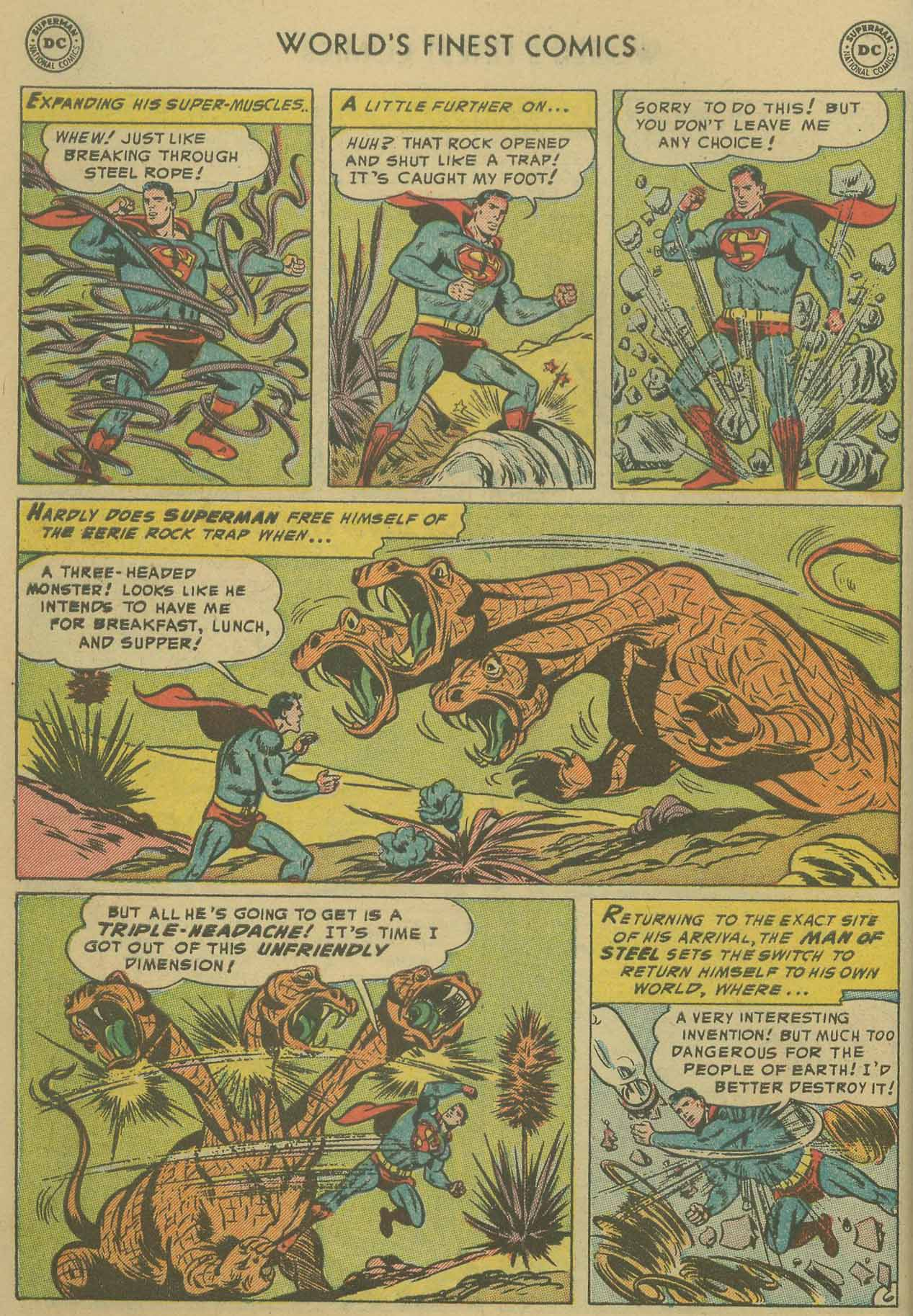 Read online World's Finest Comics comic -  Issue #69 - 8
