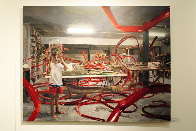 'Bendeciendo tubos', Inigo Navarro, Galleria Contrast