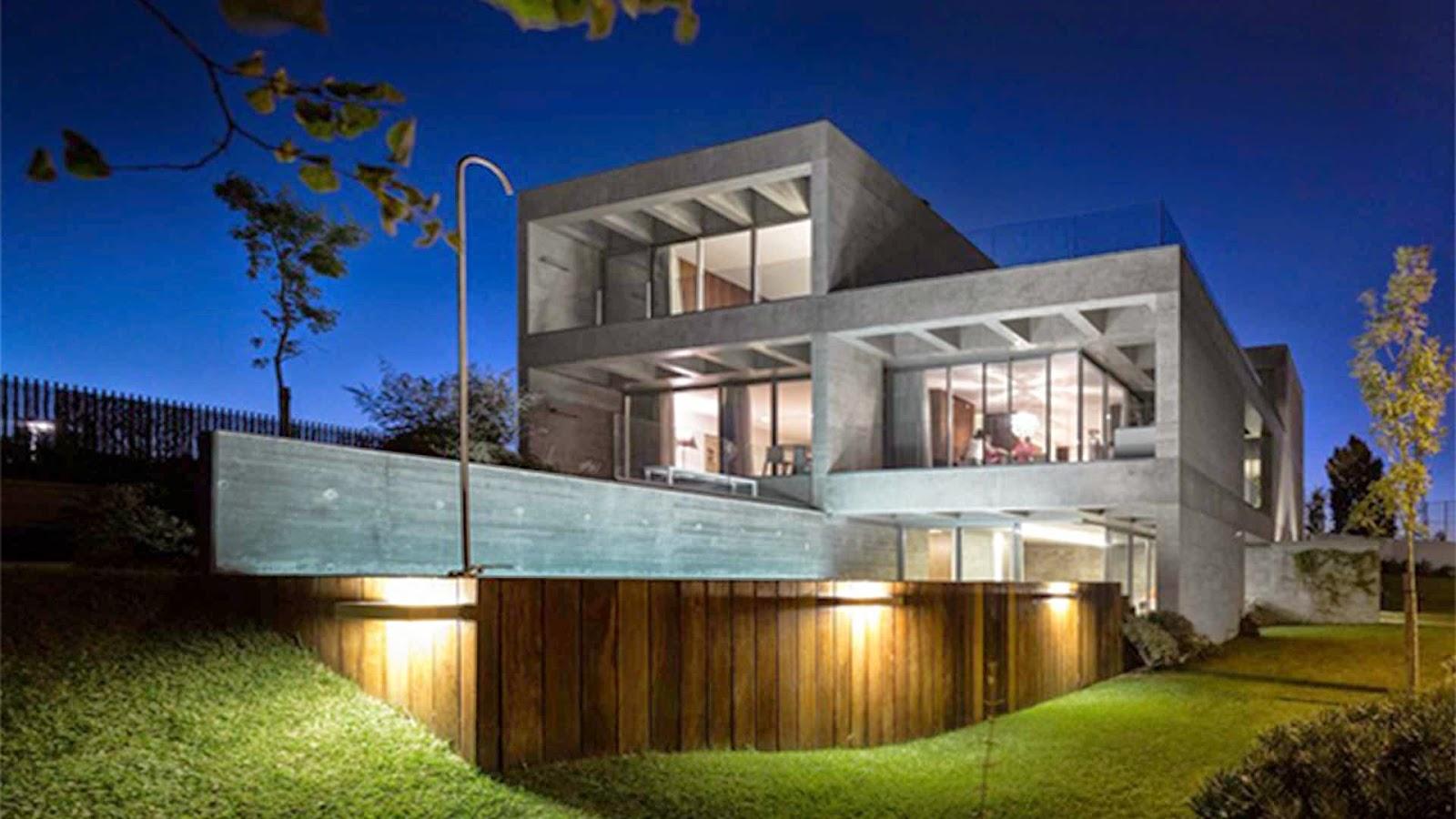 Rumahab Arsitektur Rumah Minimalis 3 Lantai