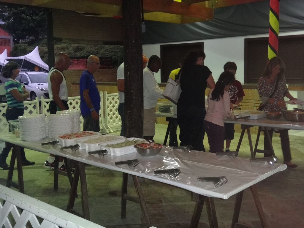 Jantar de massas da Meia Maratona de Pomerode