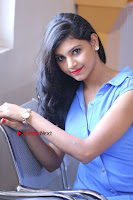Telugu Actress Mounika UHD Stills in Blue Short Dress at Tik Tak Telugu Movie Audio Launch .COM 0172.JPG
