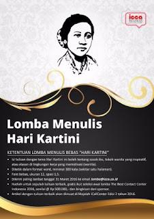 Lomba Menulis Bebas Hari Kartini 2016