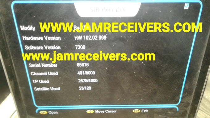 Ali3510C Hw 102.02.999 Latest Menu & Power Vu Software 2019 By Jam Receivers