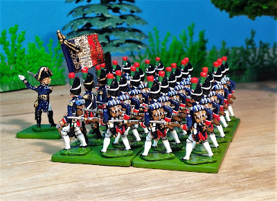 Der Kriegspielers DK 220 Chasseurs a Pied of the Imperial Guard
