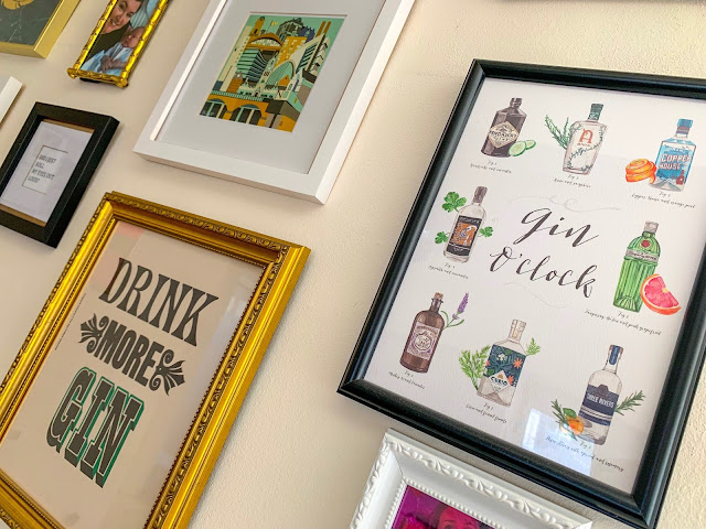 Gin O'Clock and Drink More Gin Artwork