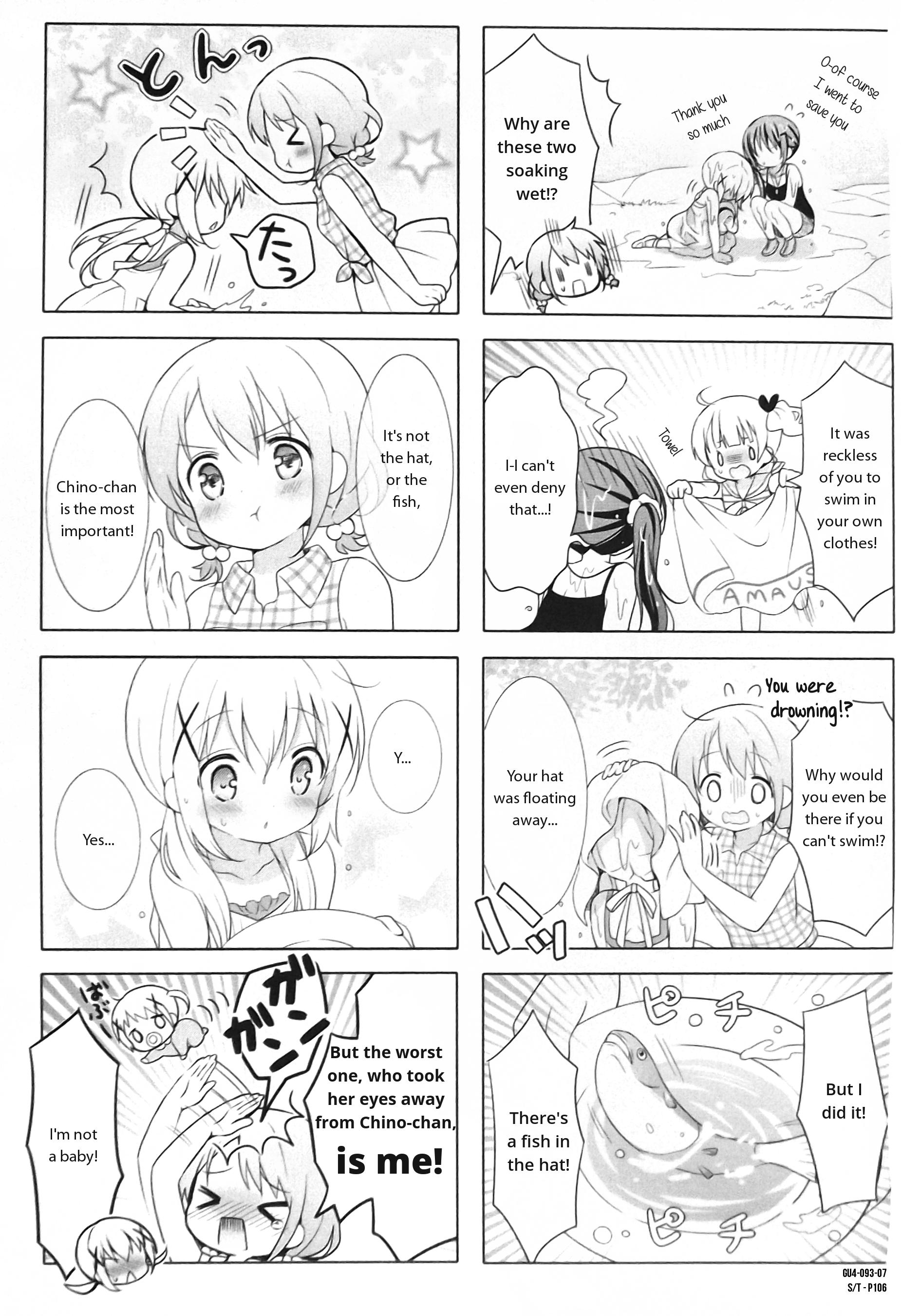 Gochuumon wa Usagi Desu ka? - Chapter 21