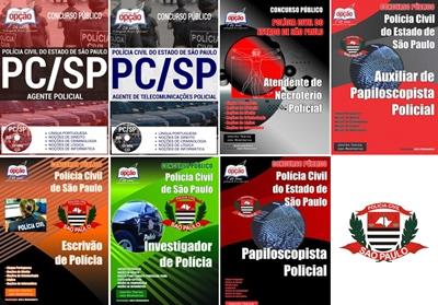 Apostilas Concurso Polícia Civil de São Paulo 2017