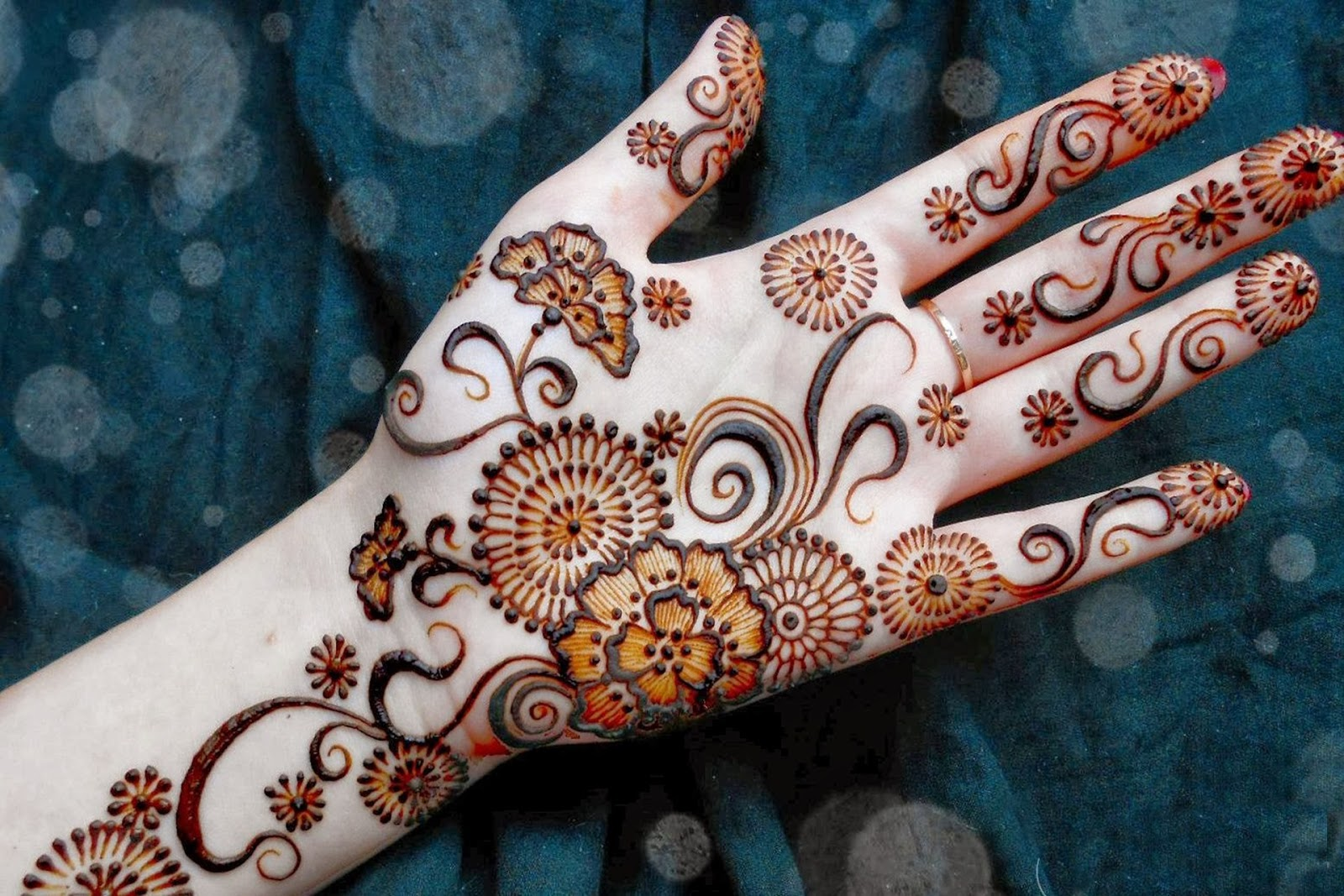 Image result for arabic mehndi designs in both hands