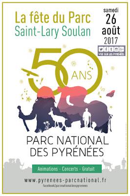 Fête du Parc national des Pyrénées Saint-Lary Soulan 2017
