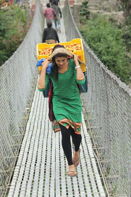 kusum Shrestha Nepali Tarkariwali