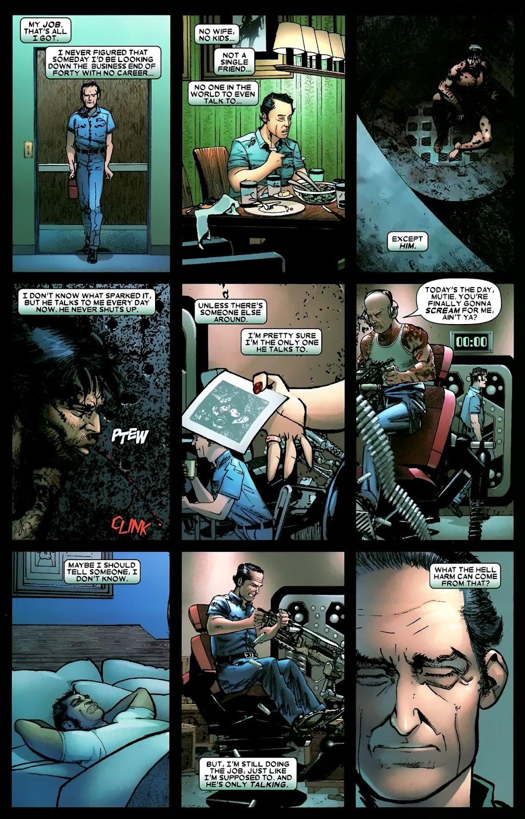 Read online Wolverine (2003) comic -  Issue #56 - 19