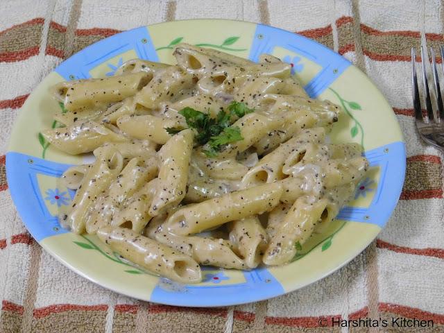 italian white sauce pasta recipe