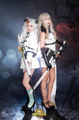 Sein Cosplay and Ruri Cosplay 1