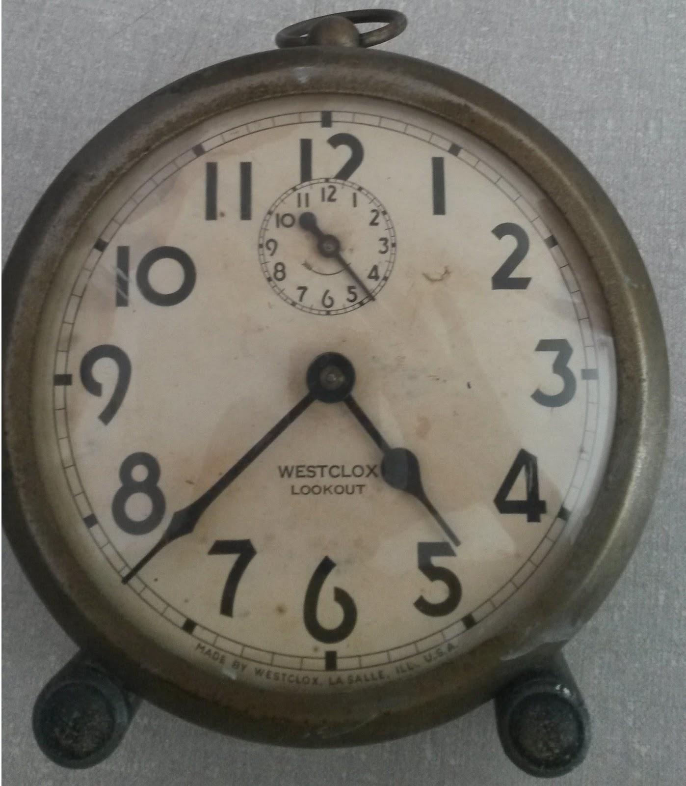 4c6b878ba39 Despertadores dessa marca Westclox foram fabricados em grande escala no  Brasil na década de 70 e 80