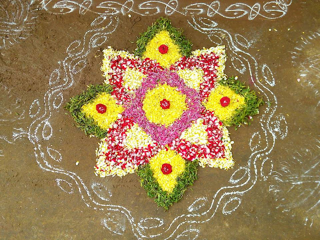 Rangoli Design for Pongal 39
